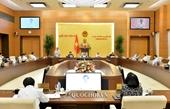 Công bố Nghị quyết của Ủy ban Thường vụ Quốc hội về công tác cán bộ
