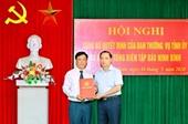 Nhân sự mới Ninh Bình, Hà Giang, Lào Cai, Thanh Hóa, Quảng Ninh