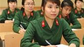 Tuyển sinh 2020 Các trường quân đội không tổ chức thi riêng để xét tuyển