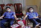 Đoàn viên Công đoàn VKSND huyện Chư Pưh tham gia Hiến máu tình nguyện