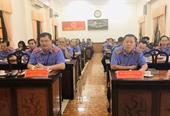 VKSND tỉnh Tiền Giang giao ban công tác tháng 4 2020