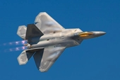 Chiến đấu cơ tàng hình F-22 tiên tiến của Mỹ bị rơi