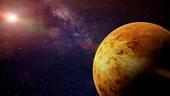 Nga xúc tiến đổ bộ xuống bề mặt nóng bỏng của Sao Kim