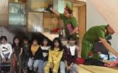 Giải cứu 12 thiếu nữ trong đường dây chăn dắt gái ở Thanh Hóa