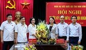 Bí thư Tỉnh ủy được bầu làm Trưởng đoàn Đại biểu Quốc hội Ninh Bình