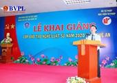 Học viện Tư pháp khai giảng lớp đào tạo nghề luật sư tại Nghệ An