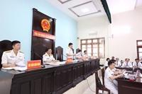 Xét xử cựu đô đốc Nguyễn Văn Hiến VKS công bố bút lục về sự tham gia của Đinh Ngọc Hệ