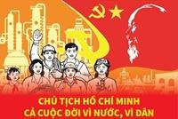 Chủ tịch Hồ Chí Minh - Cả cuộc đời vì nước, vì dân