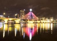 Lung linh những cây cầu bắc qua sông Hàn Đà Nẵng