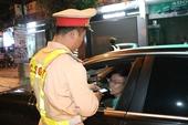 Uống rượu rồi lái xe, 1 tài xế bị xử phạt hơn 44 triệu đồng