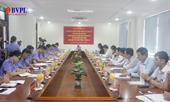 Thường trực Thành ủy làm việc với Ban cán sự Đảng VKSND TP Đà Nẵng