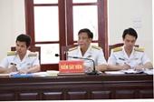 Xét xử cựu Đô đốc Hải quân Nguyễn Văn Hiến VKS đối đáp đến cùng những quan điểm bào chữa