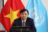 Việt Nam chủ trì họp trực tuyến lần đầu tiên giữa Đại sứ các nước E10 với Tổng Thư ký LHQ