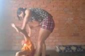 Xác minh clip người phụ nữ bóp cổ, bạo hành bé trai