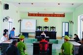 VKSND huyện Đak Pơ tổ chức phiên tòa rút kinh nghiệm, số hóa hồ sơ vụ án