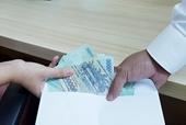 Cơ quan điều tra VKSND tối cao khởi tố vụ án cán bộ công an nhận hối lộ