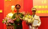 Bổ nhiệm Giám đốc, Phó Giám đốc Công an 2 tỉnh Yên Bái và Nghệ An