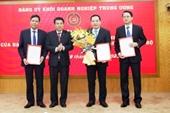 Đảng ủy Khối Doanh nghiệp Trung ương công bố quyết định về công tác cán bộ