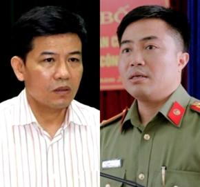 Kỷ luật nguyên Trưởng Công an huyện và Phó chủ tịch huyện Cẩm Xuyên