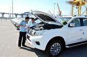 5 tháng đầu năm Ô tô nguyên chiếc nhập khẩu giảm tới gần 43