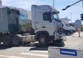 Bé trai 6 tuổi tử vong, mẹ nguy kịch sau cú va chạm với xe container