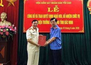 Bổ nhiệm Phó Viện trưởng VKSND tỉnh Bắc Ninh