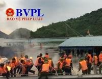 Tuyên án 16 người ném bom xăng vào đoàn cưỡng chế ở Vân Đồn