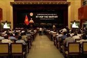 TP HCM thống nhất đề án không thành lập HĐND quận, phường