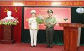 Bộ Công an bổ nhiệm nữ Thiếu tướng giữ chức Cục trưởng