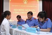 Thông báo kết quả điểm thi tuyển công chức các đơn vị VKSND tối cao năm 2019 vòng 2