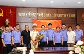 Trao tặng Huân chương Chiến công hạng Ba cho đồng chí Lê Song Lê