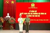 Trưởng phòng Cục C05 giữ chức Phó Giám đốc Công an tỉnh Khánh Hòa