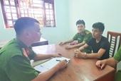 Công an xã ở Hương Sơn bắt đối tượng bị truy nã