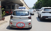 Lật tẩy chiêu trò tài xế che biển số để né camera giao thông