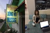 Để hút khách, chủ tiệm massage cho nhân viên kích dục 200 nghìn đồng lượt