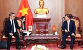 Viện trưởng Lê Minh Trí tiếp Đại sứ đặc mệnh toàn quyền Nhật Bản tại Việt Nam