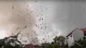 Lốc xoáy tại Vĩnh Phúc làm 3 người tử vong, khoảng 20 người khác bị thương