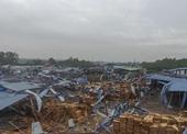 Cận cảnh hiện trường tan hoang vụ lốc xoáy làm 3 người chết, 18 người bị thương tại Vĩnh Phúc