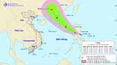 Xuất hiện áp thấp nhiệt đới trên Biển Đông, khả năng mạnh lên thành bão