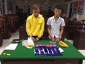 Bắt quả tang 2 thanh niên vận chuyển thuê hơn 6 000 viên ma túy