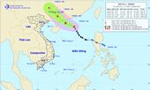 Bão số 1 cách quần đảo Hoàng Sa 460km, gió giật cấp 11-12