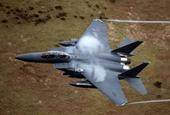 Chiến đấu cơ F-15 của Không quân Hoa Kỳ rơi ở Biển Bắc trong khi huấn luyện