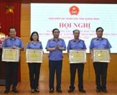 VKSND Quảng Ninh đạt nhiều thành tích trong phong trào thi đua yêu nước