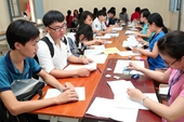 Hôm nay 15 6 , thí sinh đăng ký dự thi tốt nghiệp và xét tuyển ĐH