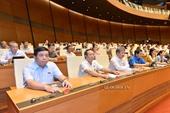 Quốc hội thông qua Luật Phòng, chống thiên tai, Luật Đê điều và Luật Doanh nghiệp sửa đổi