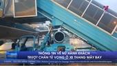 Thông tin về nữ hành khách trượt chân tử vong ở xe thang máy bay