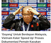 """Báo Malaysia """"Đội tuyển Việt Nam đang tuyệt vọng"""""""
