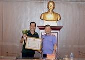"""Viện trưởng Lê Minh Trí gặp mặt các nghệ sĩ, diễn viên trong bộ phim """"Sinh tử"""""""