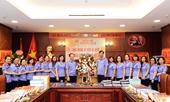 Đồng chí Trần Công Phàn và lãnh đạo các đơn vị trong ngành Kiểm sát chúc mừng Báo Bảo vệ pháp luật