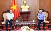 Lãnh đạo VKSND tối cao gặp mặt Đoàn Đại biểu Quốc hội TP Hồ Chí Minh